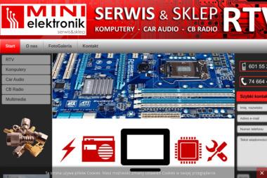 Mini Elektronik - Serwis RTV Wałbrzych