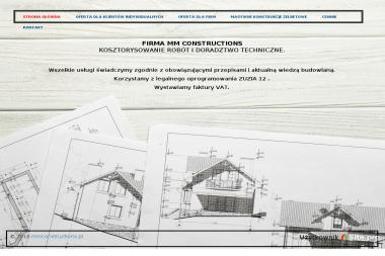 mmconstructions - Rzeczoznawca budowlany Rzeszów