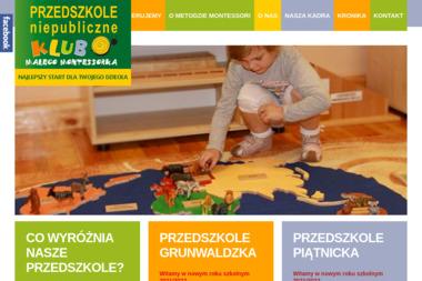 KLUB MAŁEGO MONTESSORKA - Przedszkole Legnica