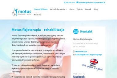 Motus Fizjoterapia - Rehabilitant Wrocław
