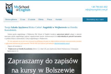My School of English - Nauczyciele angielskiego Wejherowo