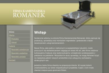 Firma Kamieniarska Romanek, s.c. - Schody kamienne Zielona Góra