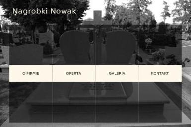 Nowak Przemysław - Zakład Kamieniarski Sieraków