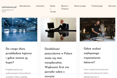 Netweavers Agencja Interaktywna Łukasz Strzelczyk - Usługi Marketingowe Tartak Brzózki