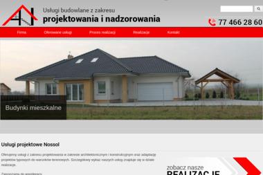 Usługi budowlane z zakresu projektowania i nadzorowania Adam Nossol - Projekty Małych Domów Krapkowice