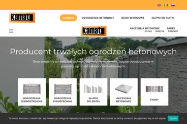 KAMAT Producent ogrodzeń betonowych - Elementy Ogrodzeniowe Betonowe Rawa Mazowiecka