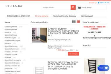 """F.H.U. """"""""CALDA"""""""" - Piece Gazowe Kondensacyjne Wieruszów"""