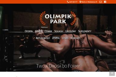 Olimpik Park - Trener Personalny Marki