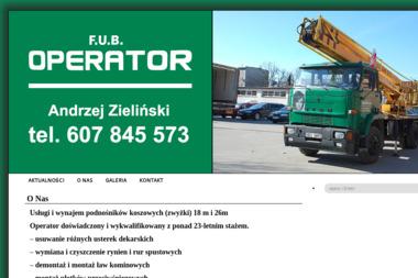 F.U-B Operator - Odśnieżanie Ełk