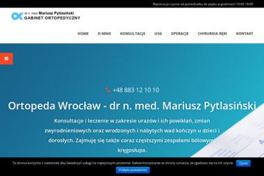 Gabinet Ortopedyczno-Urazowy USG Bioderek u Noworodków - Ortopeda Wrocław