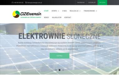 OZEnergia sp. z o.o - Energia odnawialna Zielona Góra