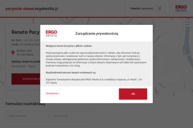 Renata Pacyniak ERGO Hestia - Pośrednictwo Ubezpieczeniowe Oława