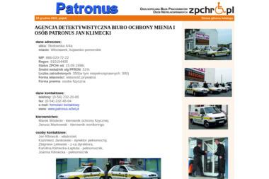 Patronus - Biuro Detektywistyczne Włocławek