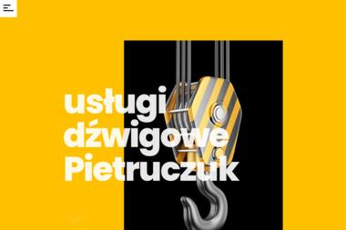 Usługi Dźwigowe - Pietruczuk Krystyna - Maszyny budowlane Siedlce