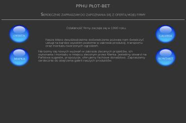"""PPHU """"Płot-Bet"""" - Ogrodzenia betonowe Urzędów"""