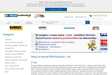 Polbudrol-Bis Sp. z o.o. - Sklep Budowlany Pawłów