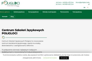 POLIGLOCI Centrum Szkoleń Językowych - Szkoła językowa Katowice