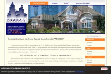 Agencja Obrotu i Wyceny Nieruchomości POSESJA - Agencja nieruchomości Stalowa Wola