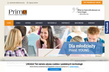 """Centrum Nauczania Języka Angielskiego """"PrimE"""" - Szkoła językowa Siedlce"""