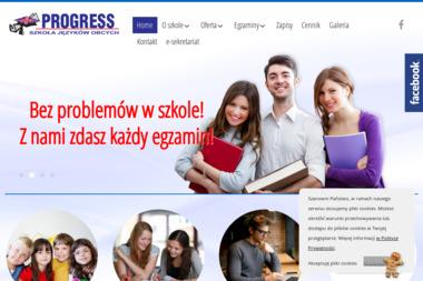 PROGRESS - Szkoła Języków Obcych - Szkoła językowa Nowy Tomyśl