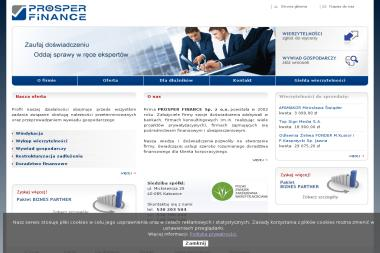 Prosper Finance Sp. z o.o. - Windykacja Katowice