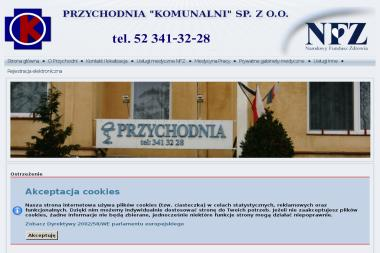 """NZOZ Przychodnia """"Komunalni"""" - Internista Bydgoszcz"""
