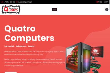 Quatro Computers - Instalacja, konfiguracja komputerów i sieci Rzeszów
