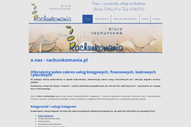 Rachunkomania Usługi Księgowe - Kadry Konstancin-Jeziorna