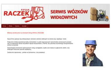 P.P.U.H. RACZEK - Wózki widłowe Tychy