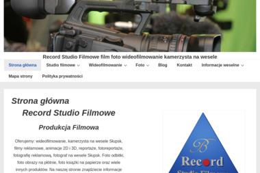 Record Studio Filmowe - Kamerzysta Słupsk