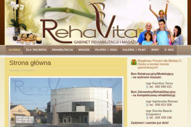 RehaVita - Masaże Relaksacyjne Gorlice