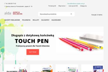 Agencja reklamowa AIDA - Agencja interaktywna Krapkowice