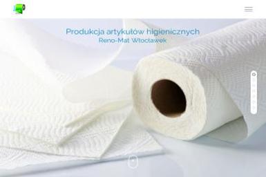 Reno-Mat PPHU Przetwórstwo papiernicze - Środki czystości Brześć Kujawski