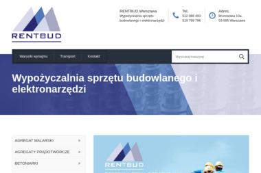 RENTBUD Wypożyczalnia sprzętu budowlanego i elektronarzędzi - Wypożyczalnia Rusztowań Warszawa