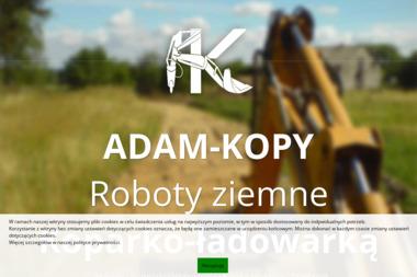 ADAM-KOPY - Roboty ziemne Grudziądz