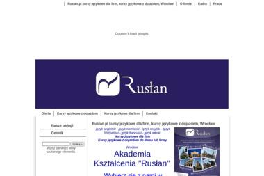 """Akademia Kształcenia """"Rusłan"""" - Język hiszpański Wrocław"""