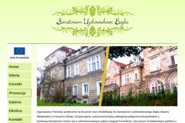 NZOZ Sanatorium Uzdrowiskowe Bajka - Sanatoria, uzdrowiska HORYNIEC-ZDRÓJ