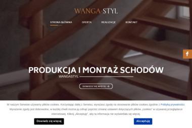WANGA-STYL - Schody metalowe Strzegowo