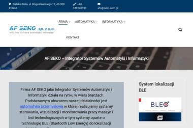 AF SEKO Sp. z o.o. - Fotografowanie Bielsko-Biała