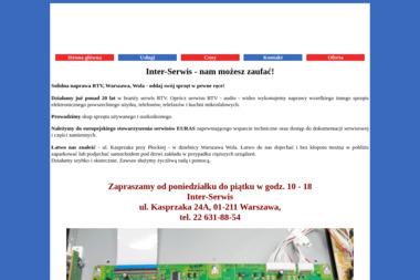 Inter-Serwis - Naprawa sprzętu audio Warszawa