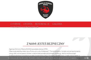 """""""SKANIA"""" Agencja Ochrony Mienia - Agencja ochrony Puck"""