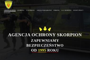 """Agencja Ochrony """"Skorpion"""" Sp. z o.o. - Agencja ochrony Kłodzko"""