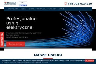 Sky-Tech Mariusz Kruszyński - Montaż Alarmów Nowe Miasto Lubawskie