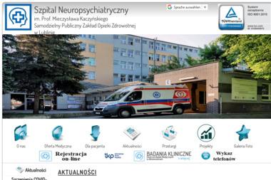 Przychodnia Specjalistyczna - Psycholog Lublin