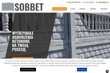 SOBBET - Elementy Ogrodzeniowe Betonowe Smyków