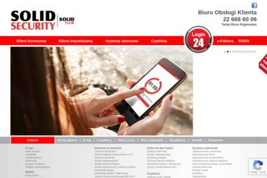 Ochrona Solid Security - Agencja ochrony Ostróda