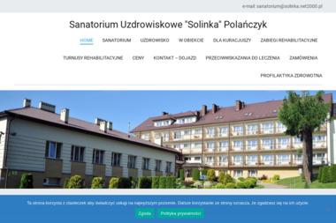 """SANATORIUM UZDROWISKOWE """"SOLINKA"""" - Sanatoria, uzdrowiska Polańczyk"""