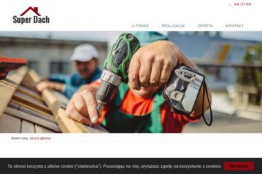Super Dach Jerzy i Roman Domagała - Dachy Wołczyn