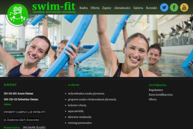 Swim Fit - Centrum Aktywności Ruchowej - Trzenerzy Biegania Sosnowiec