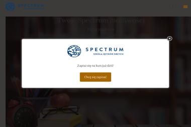 Szkoła Języków Obcych SPECTRUM - Nauczanie Języków Żodyń